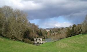 View of Prior Park Garden