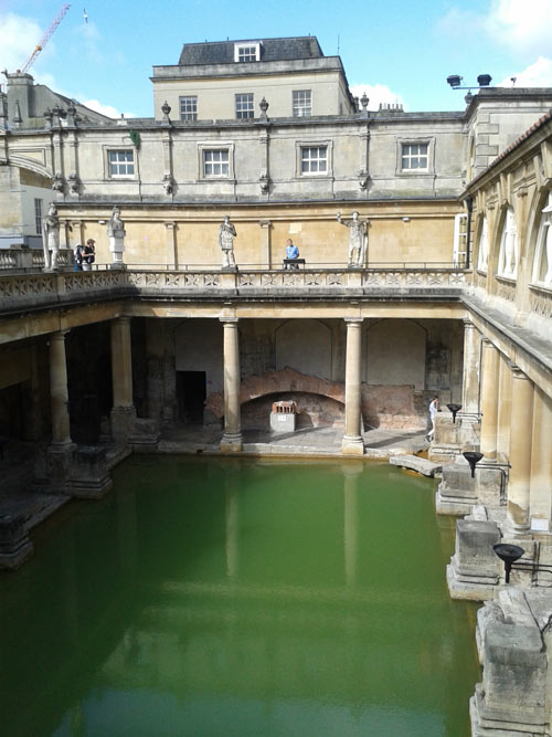 Roman Baths Museum Beautiful Bath