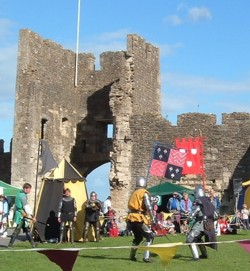 Knights at Farleigh Hungerford Castle