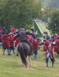 Battle re-enactment at Norton St Philip