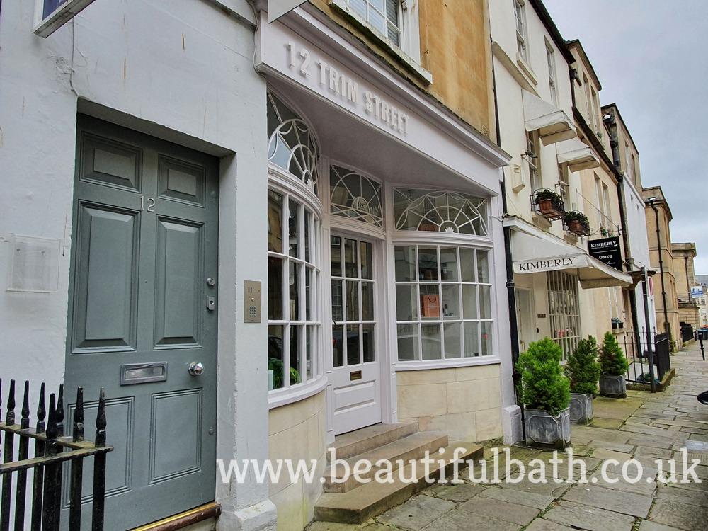 Trim Street, Bath - Bridgerton's 'Gunter's Tea Room'