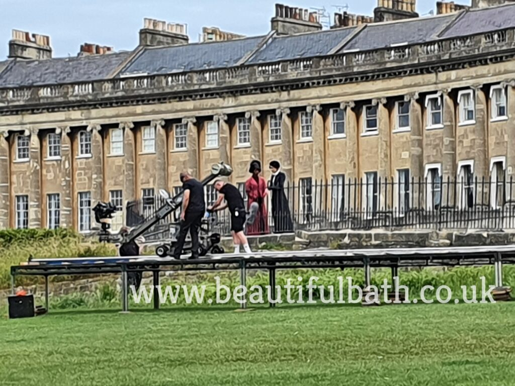 Persuasion filming in Bath