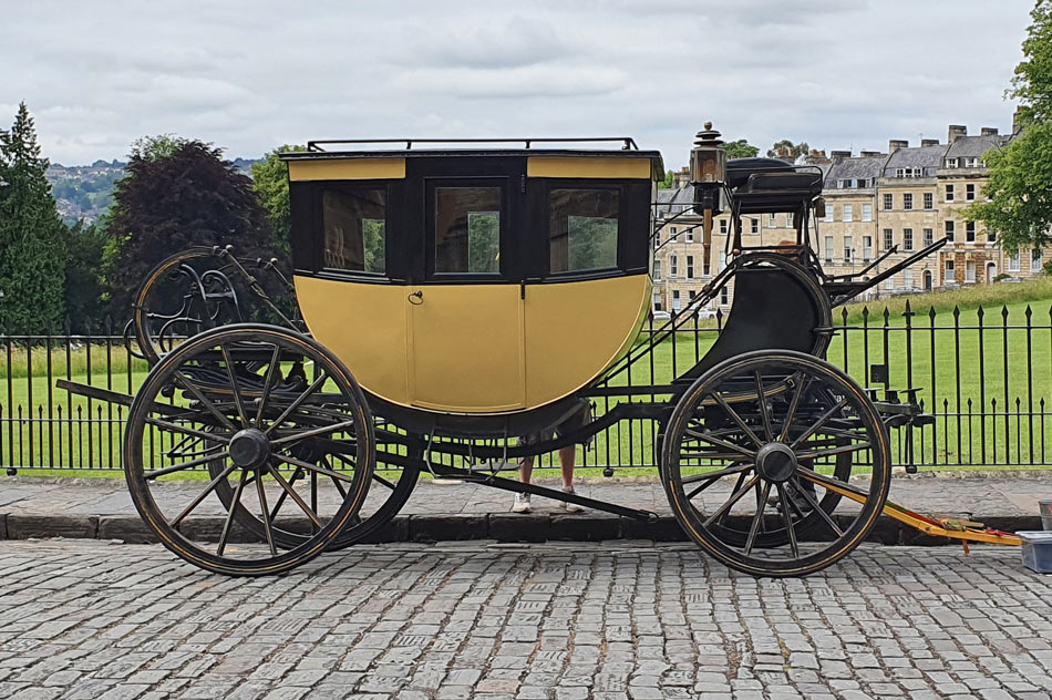 Carriage on the Royal Crescent