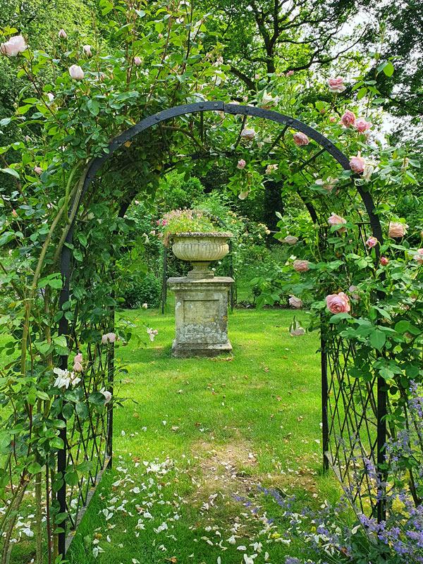 Garden at Lacock Abbey