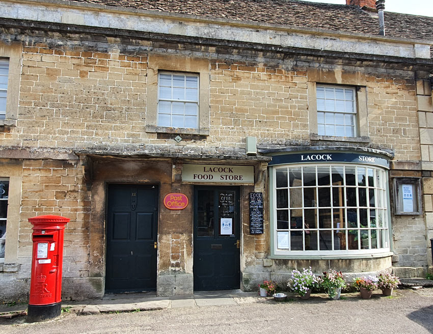 Lacock: Post Office and Food Store