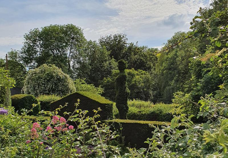 Cantax House garden, Lacock