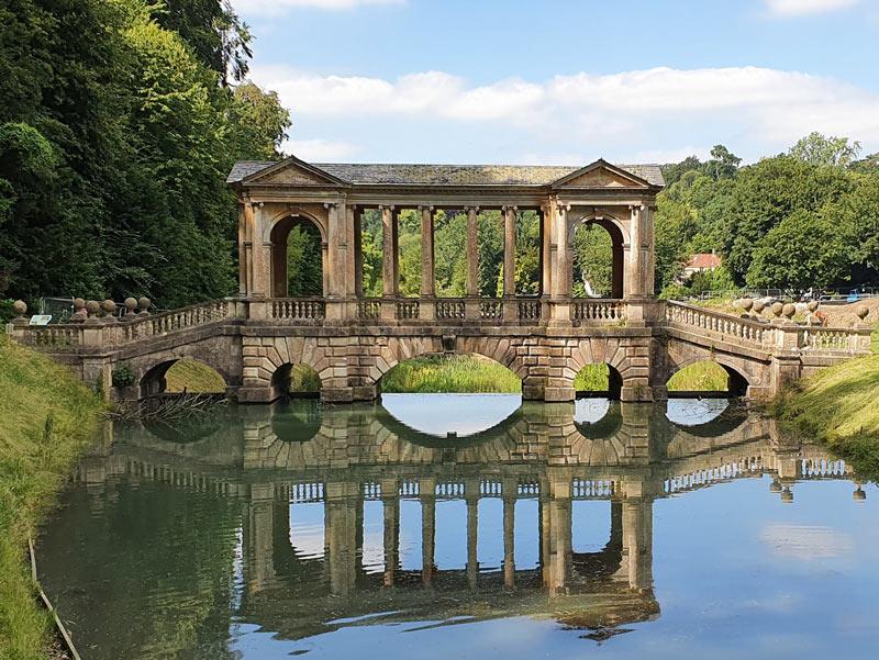 Palladian bridge, Prior Park Landscape Garden